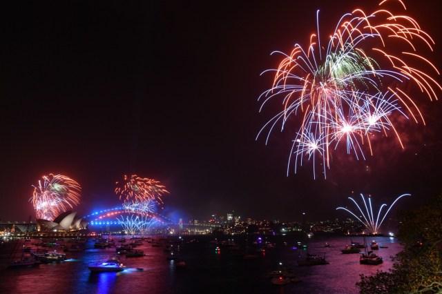 Año Nuevo en Australia.