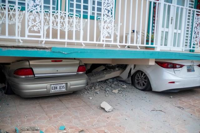 El alcalde de Guayanilla dijo a la televisora local NotiUno que la iglesia de la ciudad colapsó durante el sismo.