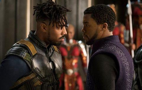 16. BLACK PANTHER.La película transcurre después de que T'Challa es nombrado nuevo rey de Wakanda, luego de que su padre muera en Civil War. Con su nuevo puesto, el nuevo rey también debe asumir el rol de Black Panther.