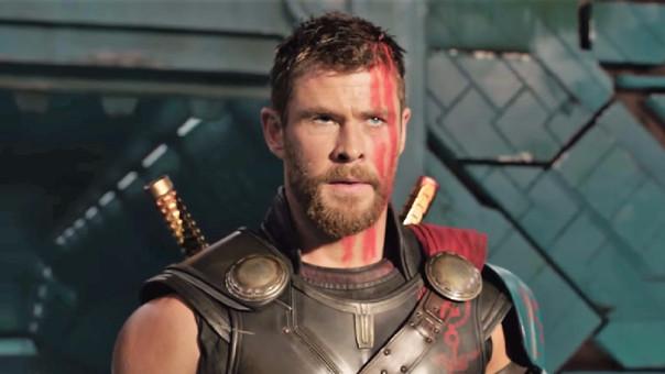 19. THOR: RAGNAROK.Esta se convirtió en la tercera entrega de las cintas en solitario de Thor y se ubica cronológicamente antes de lo sucedido en