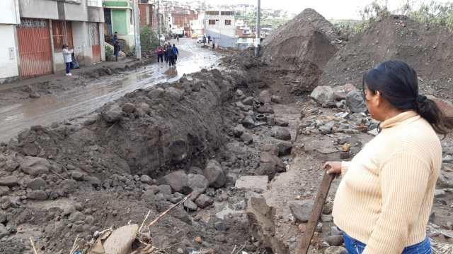 La ciudadana Julia Cruz Zúñiga resultó herida, por lo que ahora se encuentra hospitalizada.