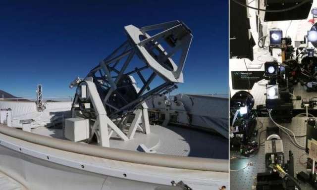 El telescopio y el observatorio.