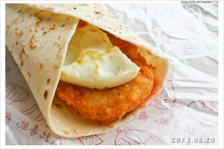[麥當勞] 黃金薯餅早安捲