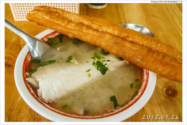 [台南北區] 阿憨鹹粥