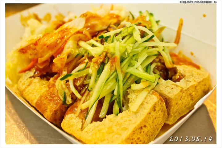[台中逢甲夜市] 一心素食臭豆腐