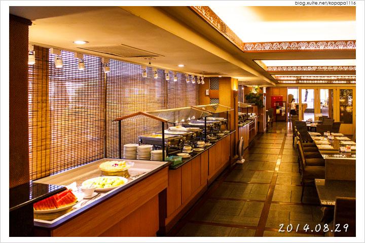 [花蓮市區] 統帥大飯店-西餐廳 | 自助式早餐