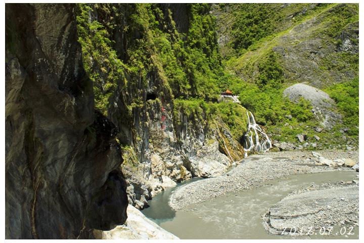 [花蓮太魯閣] 長春祠 | 瀑布美景與峽谷景觀