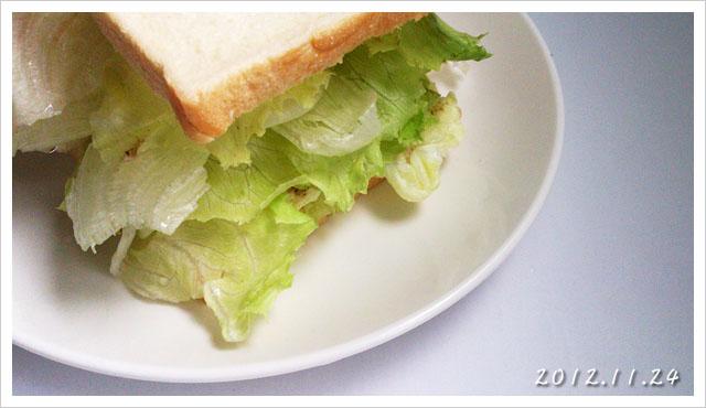[小薛食譜] 生菜沙拉吐司