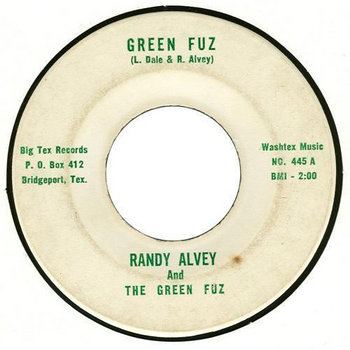 GREEN FUZ (Randy Alvey & the Green Fuz) cover art