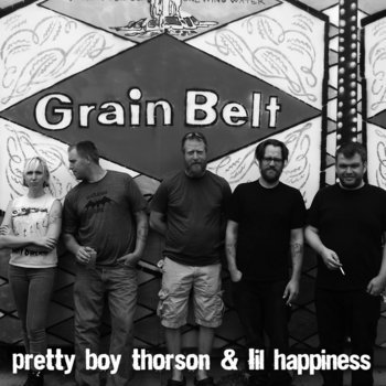 "Pretty Boy Thorson and Lil' Happiness-""I Ain't Gonna Beg"" cover art"