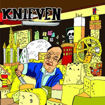 """Knifven - Av! / Den Sista Jäveln 7"""" cover art"""