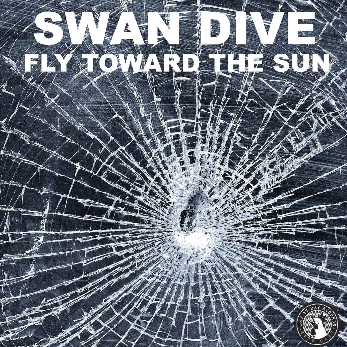swan dive fly toward the sun