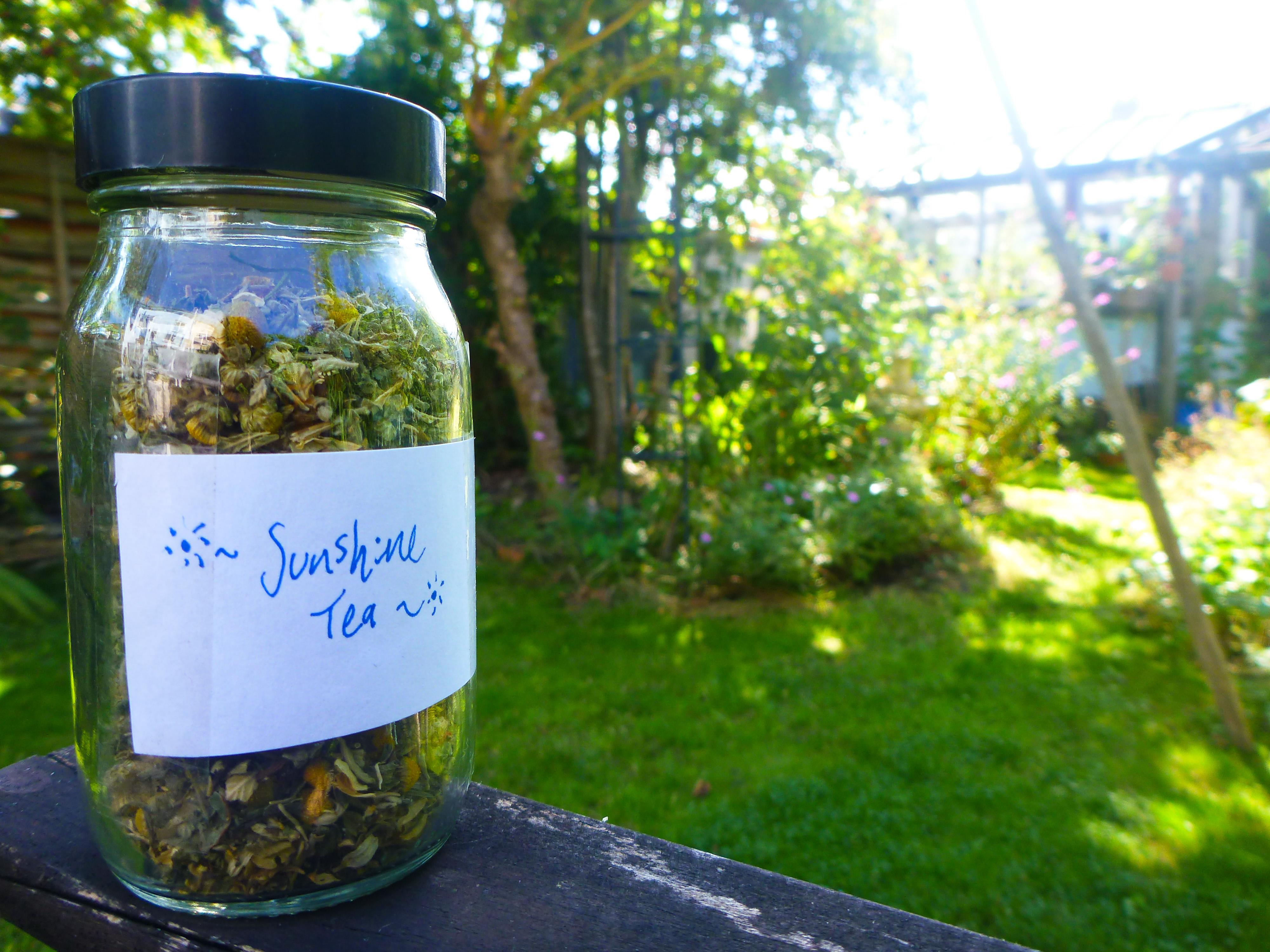 Homemade Inner Sunshine Herbal Tea