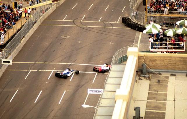 Senna v. Alesi—Phoenix 1990