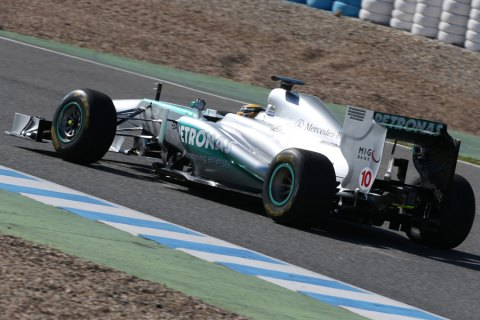 Lewis at Mercedes
