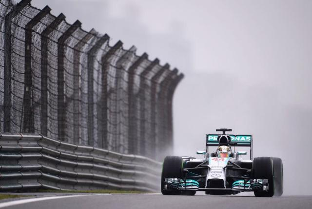 Hamilton—China 2014 qualifying