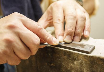 古典的工具キサゲ
