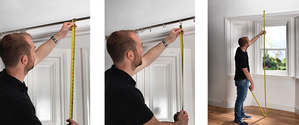Measuring Door Curtains