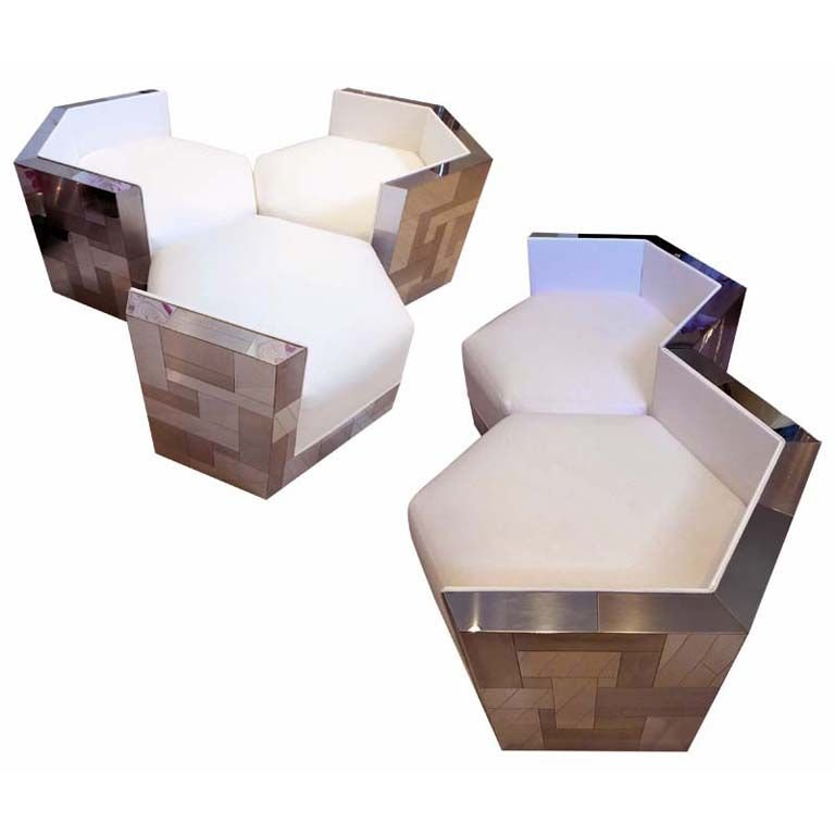 Furniture Unik Sofa Heksagonal