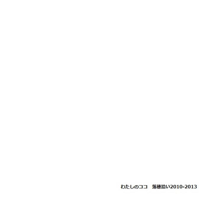わたしのココ - 落穂拾い2010-2013