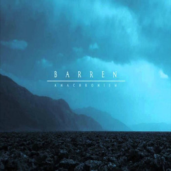 BARREN - anachronism LP cover art