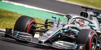 Luiss Hamiltons, Foto: Mercedes AMG F1