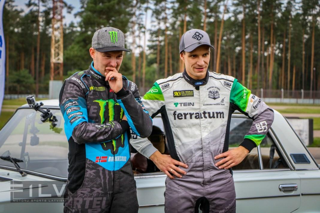 Andreass Bakerūds un Jānis Baumanis, Foto: Edgars Beļakovs/F1LV