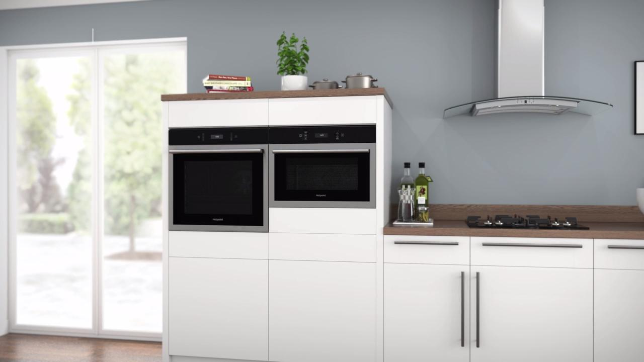 hotpoint class 6 mp676ixh built in combination microwave oven stainless steel