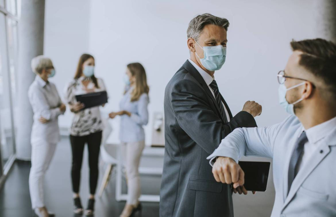 The pandemic has upended many things about everyday life, and the handshake is just one of them — the test will be to see if humans need it back. | GETTY IMAGES