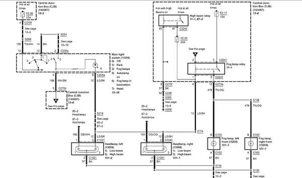 2005 F150 Fog Lamp Wiring Diagram