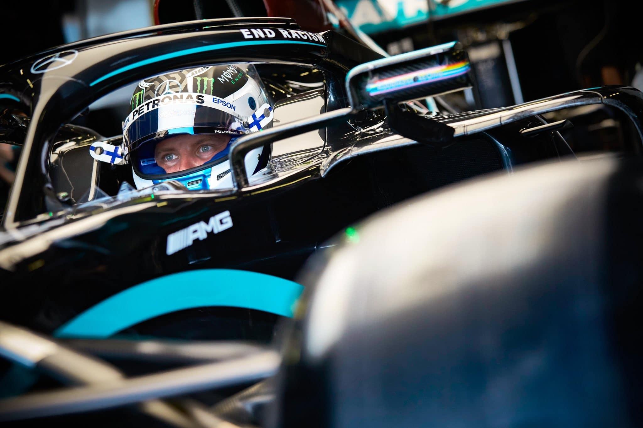 Valtteri Bottas prolonge avec Mercedes en 2021
