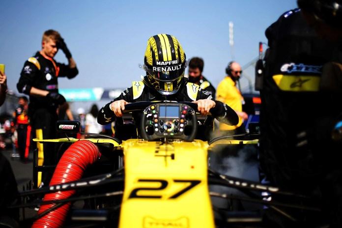 Nico Hulkenberg (GER) Renault F1