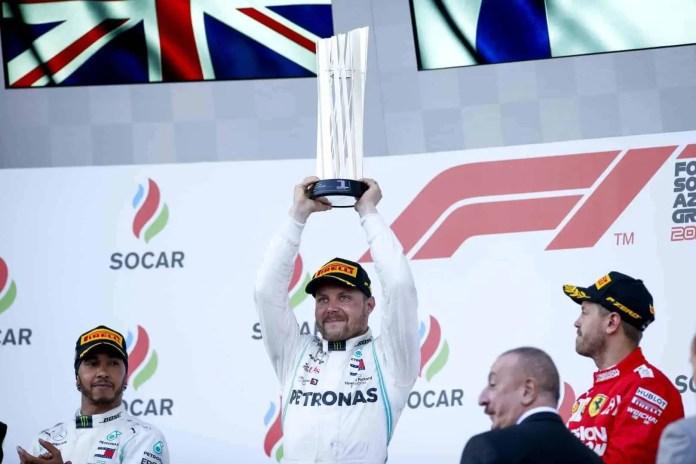 2019 Azerbaijan Grand Prix, Sunday - Valtteri Bottas