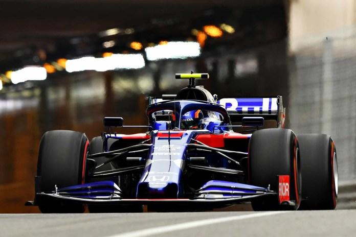 2019 Monaco Grand Prix, Thursday: Alexander Albon