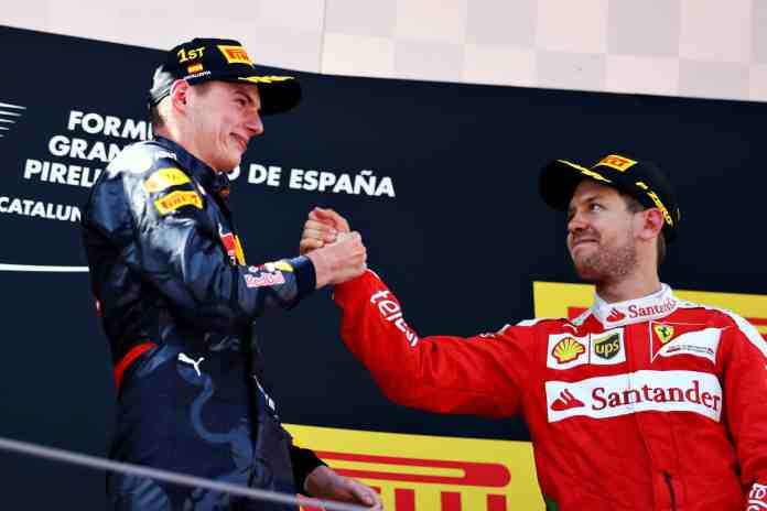 Max Verstappen Spain 2016