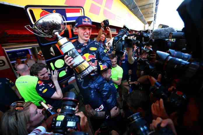 f1chronicle-Max Verstappen Spain 2016