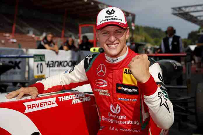 Mick Schumacher - FIA Formula 3 European Championship 2018, round 5, race 3, Spa-Francorchamps (BEL)