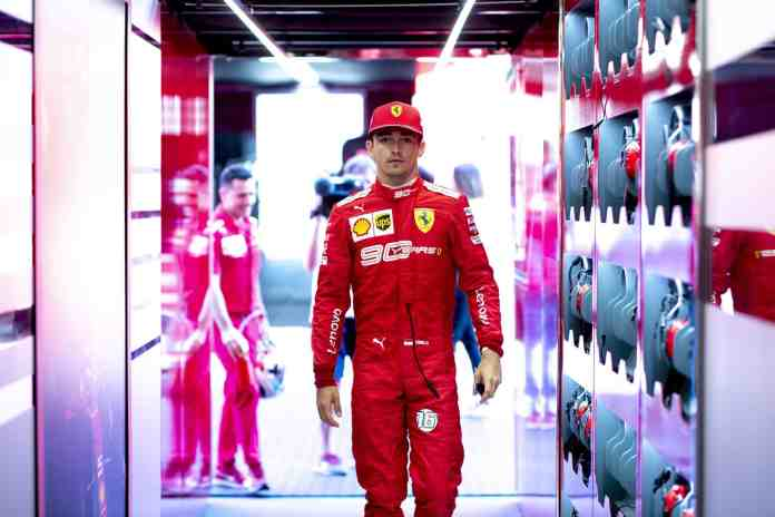 2019 Austrian Grand Prix, Day 1 - Charles Leclerc (image courtesy Ferrari Press Office)