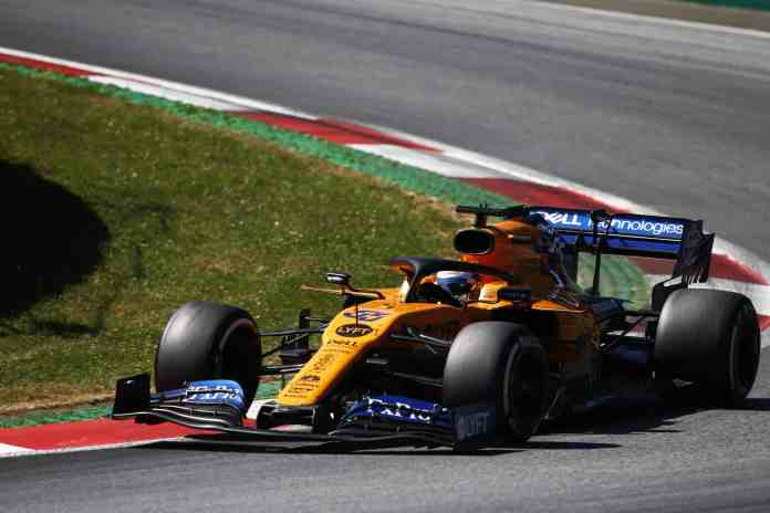 2019 Austrian Grand Prix, Sunday - Carlos Sainz (image courtesy McLaren)