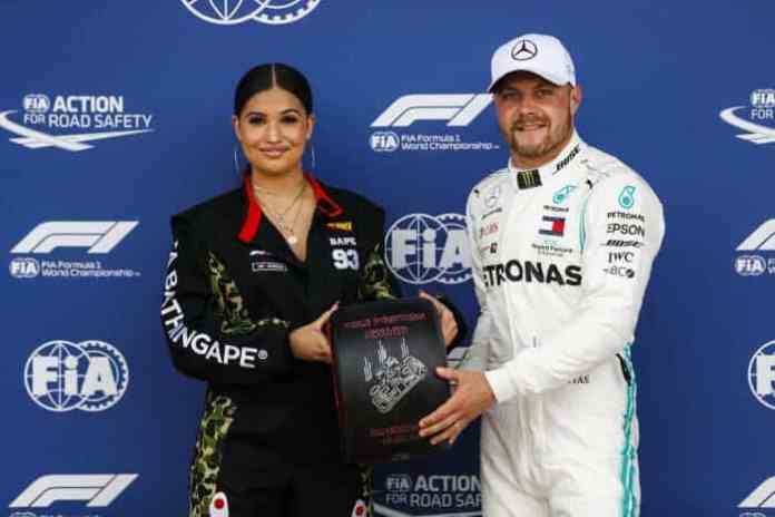2019 British Grand Prix, Saturday - Valtteri Bottas (image courtesy Mercedes-AMG Petronas)