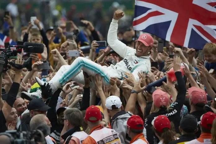 2019 British Grand Prix, Sunday - Lewis Hamilton (image courtesy Mercedes-AMG Petronas)