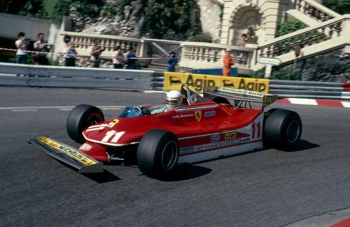 Jody Scheckter Ferrari 312 T4