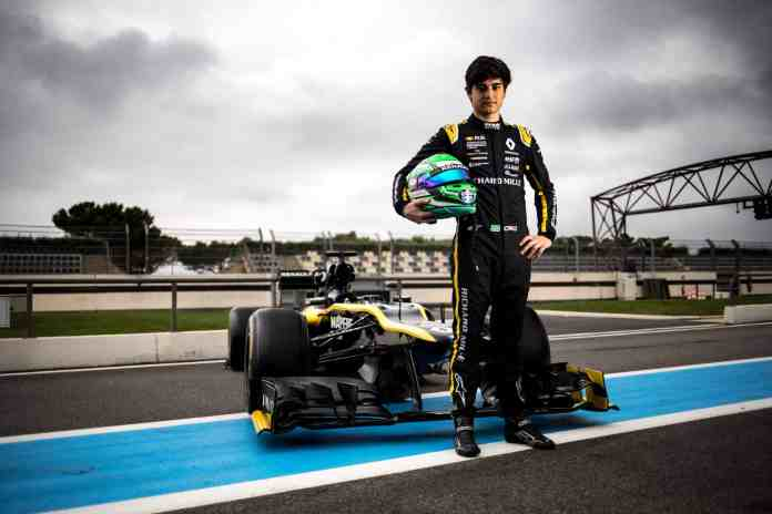 Renault Sport Academy Driver Caio Collet (image courtesy Renault F1 Team)