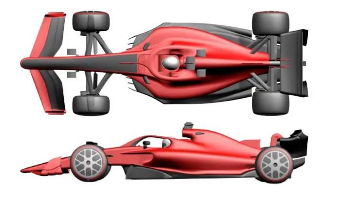 Aerodynamic regulation - visual differentiation 6