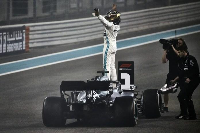 2019 Abu Dhabi Grand Prix, Sunday - Lewis Hamilton (image courtesy Mercedes-AMG Petronas)