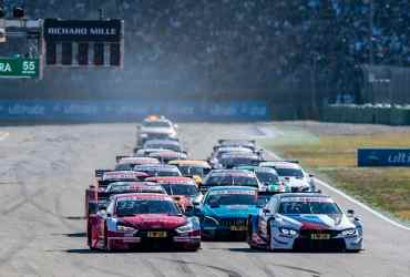 DTM push-to-pass DRS