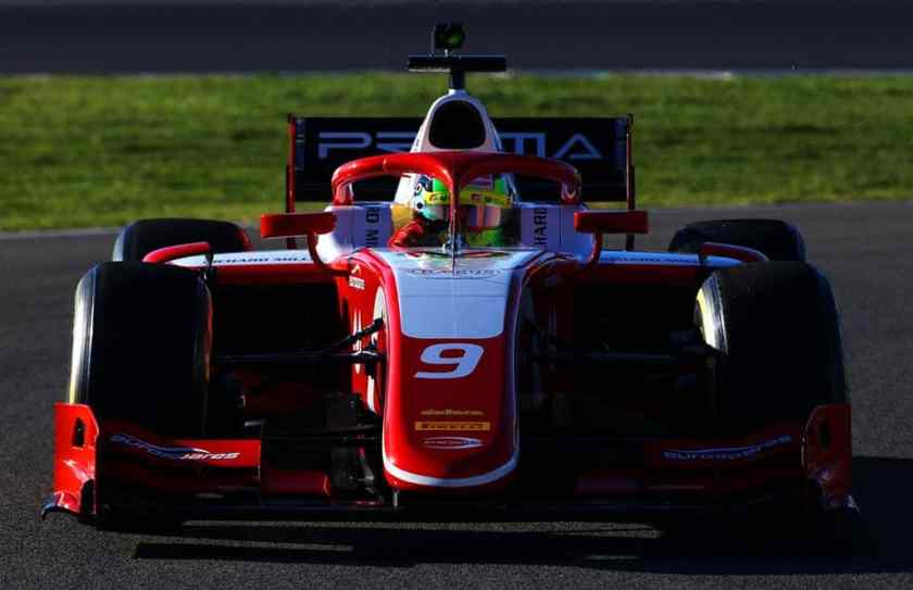 Mick Schumacher test
