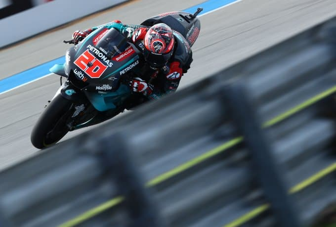 Super pole position per Quartararo