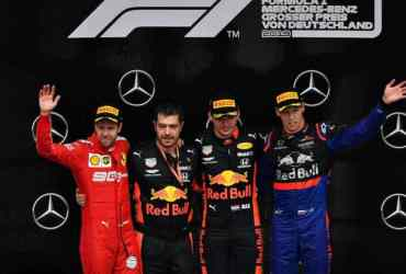 F1 - GP Germania - Podio