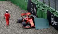 Crash di Leclerc in Germania, credits: racer.com